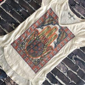 Hamsa Bohemian blouse size xs
